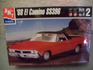 AMT 1968 El Camino SS 396 Model Kit: Toys & Games