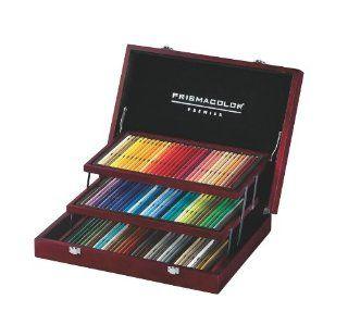 Prismacolor Premier Colored Pencil Wooden Box Set, 96 Colored Pencils (1758100)  Wood Colored Pencils