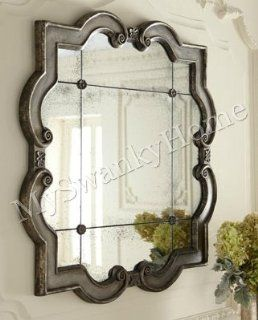 Shop Large Ornate Silver Square Wall Mirror QUATREFOIL at the  Home D�cor Store. Find the latest styles with the lowest prices from Home Decor Source