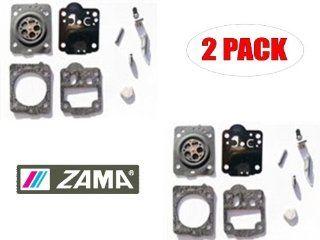 Genuine Zama RB 149 Carburetor Repair Kit for Husky Airhead Saw, Poulan Airhead Hobby Saw (2 Pack)