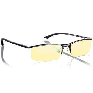 Gunnar Emissary Onyx/ Amber Semi rimless Advanced Computer Glasses