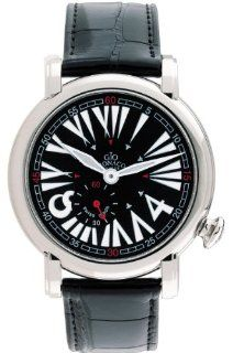 Gio Monaco Women's 404 A DaFnE Black Dial Alligator Leather Watch: Watches
