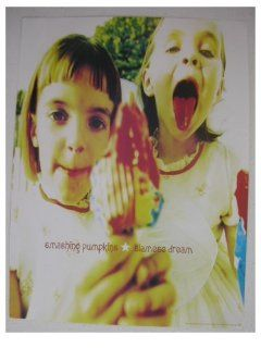 The Smashing Pumpkins Poster Stunning shot of the Siamese Dream   Artwork