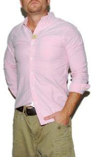 Polo Ralph Lauren RRL Mens Oxford Dress Shirt Pink XS at  Men�s Clothing store