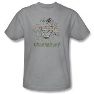 Dexter's Laboratory Men's T shirt Vintage Cast Clothing