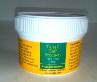 T444z Hair Food, Hair Butter Grow Voluminous Long Hair, Repair Bald Patches 150g  Beauty