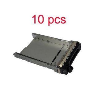 "10 x Original Dell Poweredge 2900 2950 3.5"" F9541 NF467 H9122 MF666 SAS/SASTu Hard Drive Tray Caddy: Computers & Accessories"