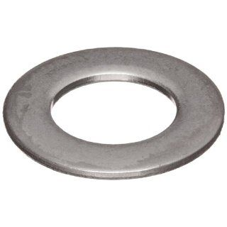 "MIL SPEC Flat Washer, Meets Spec NAS620, 18 8 Stainless Steel, Round Shape, USA Made, 1/4"" Hole Size, 0.255"" ID, 0.468"" OD, 0.059 0.067"" Thick, (PACK OF 100): Industrial & Scientific"