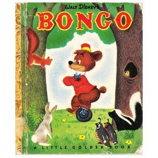 LITTLE GOLDEN BOOK WALT DISNEY'S BONGO: Books