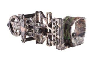 Trijicon AccuPin Bow Sight Green Triangle with Dovetail Base and AccuDial Mount Right Handed (Lost� Camo)  Trijicon Holographic Bow Sight  Sports & Outdoors