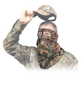 Primos Ninja Mesh 3/4 Mask Face Mask   Mossy Oak New Break Up : Hunting Camouflage Accessories : Sports & Outdoors