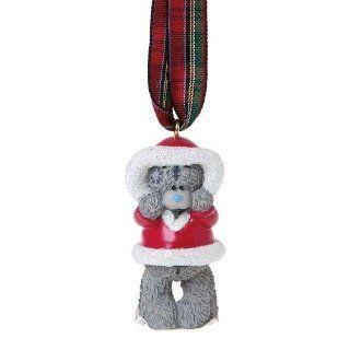 Santa Me You Bear Christmas Tree Decoration: Toys & Games