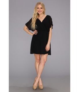 Gabriella Rocha Cara Chiffon Dress Black