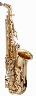 RS Berkeley ALS502 Elite Series Eb Alto Saxophone with Case and Accessories Musical Instruments