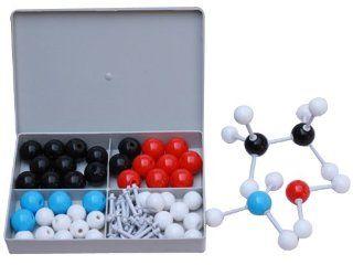 Xmm 503 Large Molecular Model Sets, Build Most of Organic Molecular Model, Crystal Structure Models and Common Inorganic Molecular Models.   Chemistry Science Kits