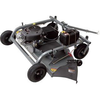Swisher Finish Cut Tow-Behind Mower — 500cc Briggs & Stratton Intek Engine with Electric Start, 60in. Deck, Model# FC17560BS  Trail Mowers