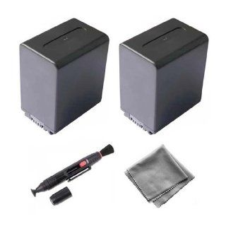 2 Pack NP FH100 High Capacity Replacement Battery for Sony DCR DVD103 DCR DVD505 DCR DVD808 DCR DVD92�  UltraPro BONUS INCLUDED Deluxe MicroFiber Cleaning Cloth, Lens Cleaning Pen  Digital Camera Batteries  Camera & Photo