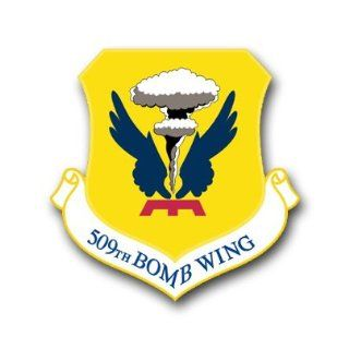 "US Air Force 509th Bomb Wing Decal Sticker 3.8"": Automotive"