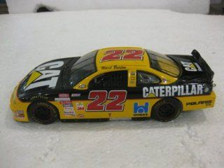 Nascar Ward Burton #22 Cat Financial Pontiac Grand Prix Black With Yellow Car 124 Scale Stock Car 2000 Limited Edition Collectible By Racing Champions Toys & Games