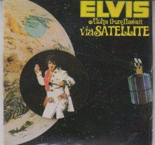 Elvis Presley Aloha From Hawaii #43 Chu bops Miniature Bubble Gum Album Sealed Toys & Games