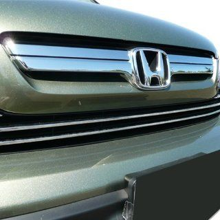 07 08 09 Honda CRV Chrome Factory Style Insert Grille Overlay Automotive