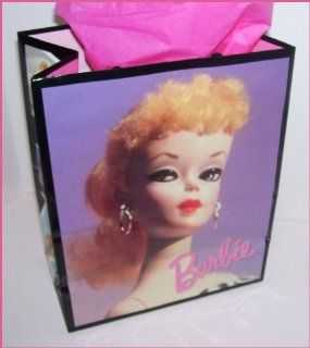 1996 Hallmark Ponytail Barbie Doll Collectible Gift Bag Toys & Games