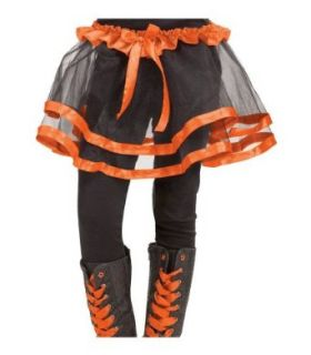 Orange Ribbon Kids Tutu: Childrens Costumes: Clothing