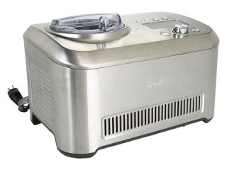 Breville Bci600xl The Smart Scoop Ice Cream Maker Stainless Steel