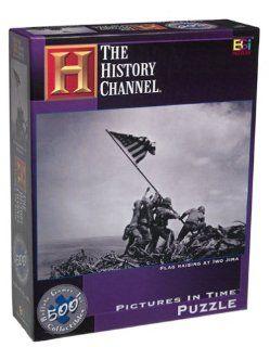 Flag Raising at Iwo Jima Jigsaw Puzzle 529pc Toys & Games