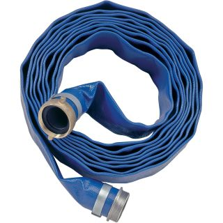 Apache Water Pump PVC Discharge Hose — 6in. x 100ft., Model# 98131023  Discharge   Suction Hoses