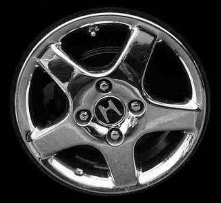 98 02 HONDA ACCORD SEDAN ALLOY WHEEL RIM 15 INCH, Diameter 15, Width 6 (5 THICK SPOKES, 4CYL, 4 LUG), MACHINED FACE, 1 Piece Only, Remanufactured (1998 98 1999 99 2000 00 2001 01 2002 02) ALY63785U10: Automotive