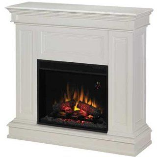 """ClassicFlame Phoenix 23"""" Cabinet Corner Electric Fireplace in White  23DM537 T401: Home & Kitchen"""