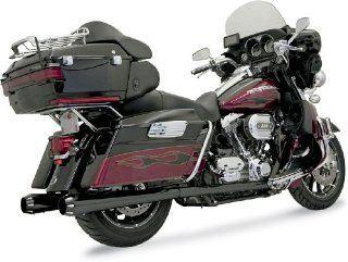 Bassani Exhaust Headpipes True Duals For Harley Davidson Bagger 2009 2012   Black   11325A Automotive