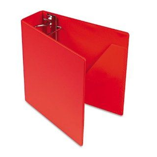 Cardinalamp;reg;   Heavyweight Vinyl Slant D Ring Binder, 3amp;quot; Capacity, Red   Sold As 1 Each   Locking, alignment protected Slant Damp;reg; rings.  Office D Ring And Heavy Duty Binders