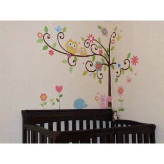 RoomMates RMK1439SLM Scroll Tree Peel & Stick Wall Decal MegaPack: Home Improvement