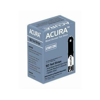 ACURA Blood Glucose Test Strips Health & Personal Care