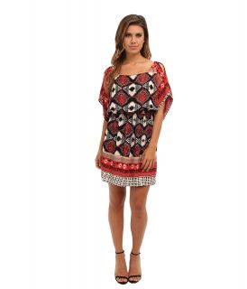 Angie Tribal Print Dress Womens Dress (Black)