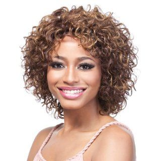 IT'S A WIG Human Hair Wig   CHARMING CURL Color   #DX2216  Hair Replacement Wigs  Beauty