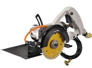 Gison Gpw 227 4 1/2 Inch Wet Air Stone Cutter/Saw with Diamond Blade/Hose   Tools Products