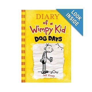 Dog Days (Diary of a Wimpy Kid Book 4) by Jeff Kinney (Hardcover) Books
