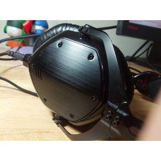 V MODA Crossfade M 100 Over Ear Noise Isolating Metal Headphone (Matte Black Metal) Electronics