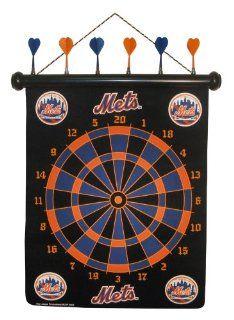 MLB New York Mets Dart Board  Board Games  Sports & Outdoors