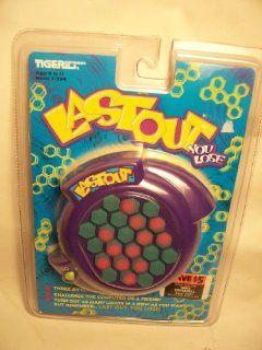1997 Tiger Electronics, Inc. LASTOUT YOU LOSE Electronic Game Model# 7 594 Toys & Games