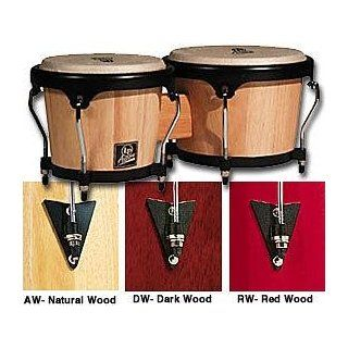LP LPA601 DW Wood Bongos: Musical Instruments