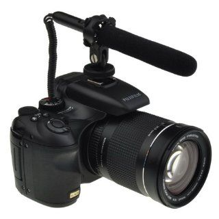 Audio Jack Wired DV Video Stereo Shortgun Microphone for Canon 5D Mark II 7D 60D T3i : Everything Else