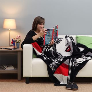 Wonder Woman Noir Fleece Blanket