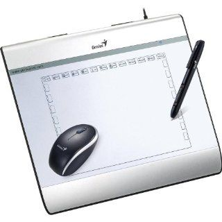 Genius I608X 6X8 USB Tablet with Mouse and Pen Computers & Accessories