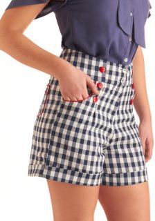 In the Picnic of Time Shorts  Mod Retro Vintage Shorts