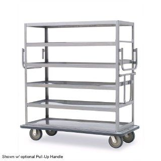 Metro MQ 609F Queen Mary Banquet Service Cart with 6 Flat Shelves   Utility Carts