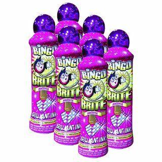 Six Pack 3oz Bingo Brite Magenta Bingo Dauber  Bingo Equipment  Sports & Outdoors